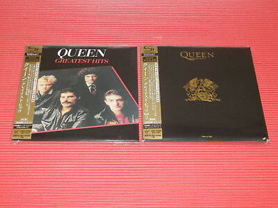 Free Shipping 2016 Queen Greatest Hits Vol.1 , 2 Japan Mini Lp Shm Cd Set
