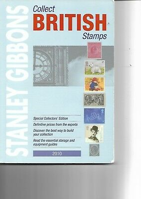 2 x stamp catalogues Collect British Stamps 2010 plus GB Market Values 2009