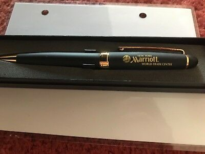 World Trade Centre Marriott ball point Pen pre 2011 in gift box.