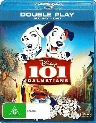 101 Dalmatians (Blu-ray/DVD) = NEW Blu-Ray Region B