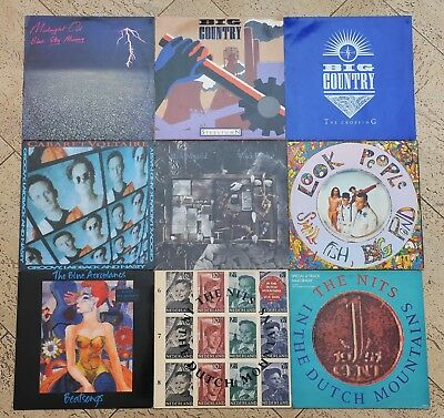 9 x INDIE - LP Sammlung - Cabaret Voltaire / Bob Mould / Look People / The Nits