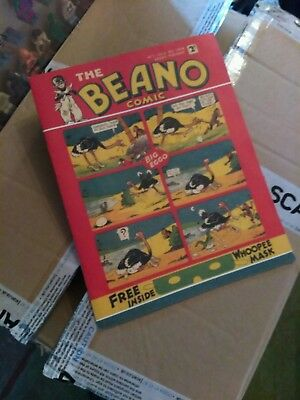 Beano Comic No1, July 30 1938, Reprint from the 70's