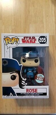Funko Pop 205 Star Wars Rose Specialty Series Edition Exclusive in stock