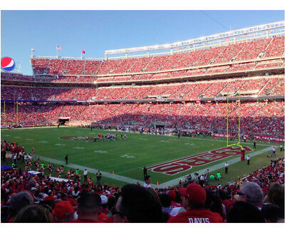 2 Tickets Section 131 San Francisco 49ers vs Seahawks 12/16/18 w/ Parking