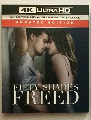 Fifty Shades Freed 4K Blu-ray Digital Slipcover Brand NEW FREE~Shipping!