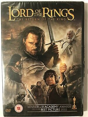 The Lord Of The Rings - Return Of The King (DVD, 2005, 2-Disc Set) Region 2 UK
