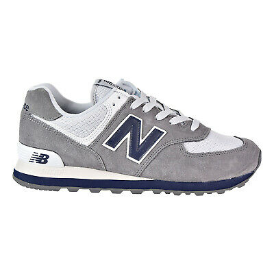 5c9fa94037e NEW BALANCE 574 Core Plus Men s Shoes Grey Blue White ML574ESD ...