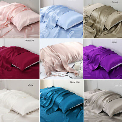 Soft Smooth 19 M/m Mulberry Pure Silk Pillow Towel Queen Silk Anti-Ageing Beauty