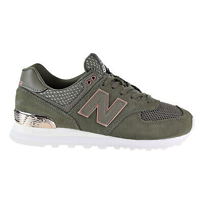 NEW BALANCE 574 All Day Rose Womens's Shoes Olive WL574FSD