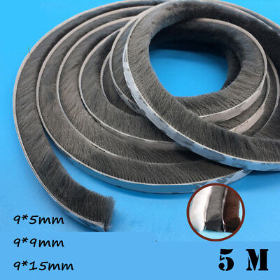 Gadgets Tape Door and window seal Sealing Strip Pile Weatherstrip Self Adhesive