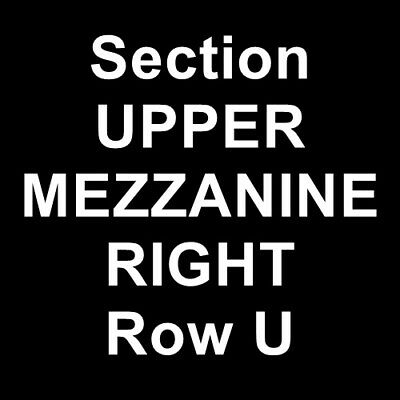 2 Tickets Rock of Ages 2/10/19 5th Avenue Theatre Seattle, WA