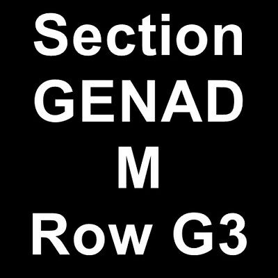 2 Tickets Gregory Alan Isakov 2/14/19 San Francisco, CA