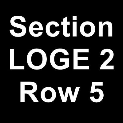 2 Tickets Hozier 3/20/19 St. Petersburg, FL