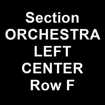 3 Tickets John Crist 4/14/19 Fabulous Fox Theatre - Atlanta Atlanta, GA