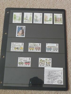 GREAT BRITAIN Mint Stamps 1980
