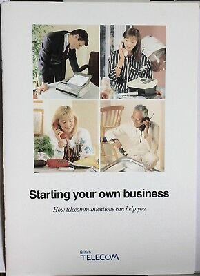 """Vintage BT Advert for """"Startng Your Own Business"""""""