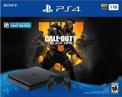 SAME DAY SHIP - Sony PlayStation 4 1TB Call of Duty: Black Ops 4 Console Bundle