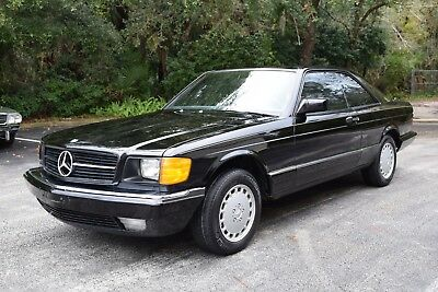 1985 Mercedes-Benz 500-Series  1985 Mercedes Benz 500SEC Desirable Black/Black