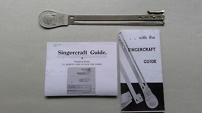 Vintage Singer Singercraft Sewing Machine Guide 120987 + Instructions