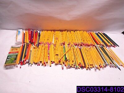 Qty = 324 Pieces: Mixed Lot of Pencils. Many Styles, Sizes