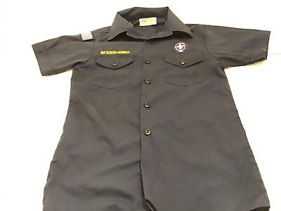 BSA Official Cub Scout Shirt Youth Large
