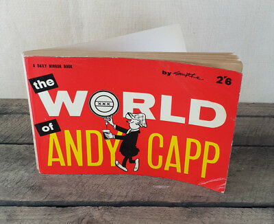The World Of Andy Capp Book by Reg Smythe 1961, Vintage Comic Book
