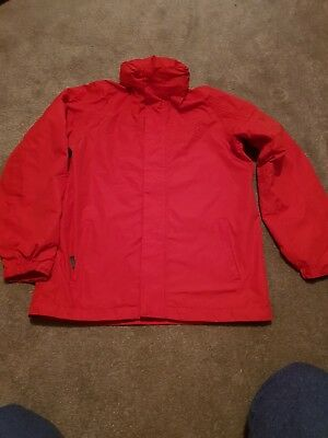 Boys red Peter Storm rain proof storm shield  jacket age 13