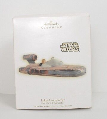 Star Wars: Luke's Landspeeder Ornament Hallmark Keepsake 2009