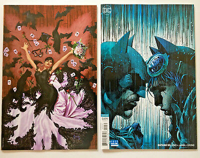Batman #50 Exclusive Midtown Joe Jusko virgin variant & Jim Lee variant (NM)*