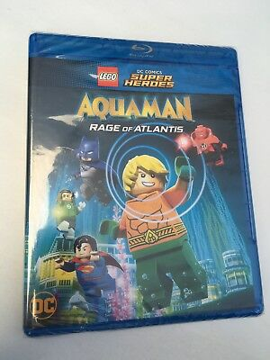 LEGO DC Super Heroes: Aquaman - Rage Of Atlantis [New Blu-ray]