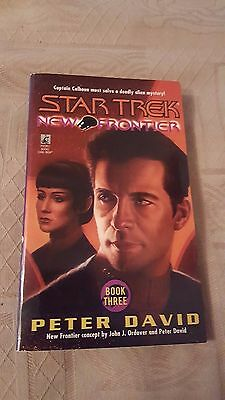Star Trek New Frontier Book Three 3 P/b Peter David