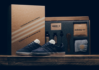 55ad9b5ca58 NEW  250 Adidas Originals Gazelle Crafted RARE CRAFTED PACK Size 12 BW1250