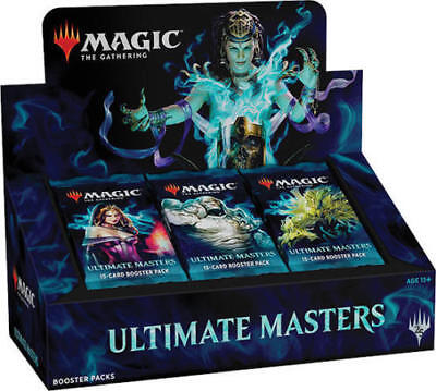 MTG Ultimate Masters Booster Box Sealed with Box Topper!  Ships 12/7/18. UMA