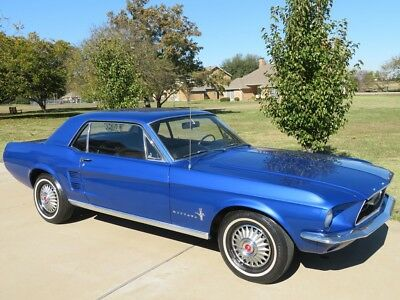 1967 Ford Mustang 289 powersteering 1967  Ford Coupe Mustang Automatic 289 with powersteering