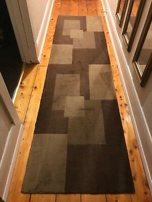 Geometric Runner Rug Excellent condition