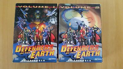 3 DVD`sDefenders of the Earth Vol. 1 + 2 (2005) 35 + 30 Episoden auf 13 DVD`s