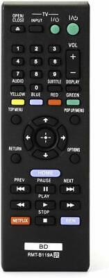 NEW USBRMT RMT-B119A Remote for Sony Blu-Ray DVD Player BDP-BX510 BDP-S5100