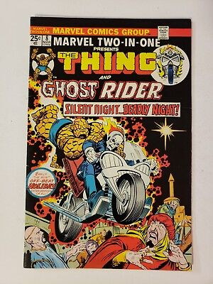 Marvel Two-In-One #8 (1974) Thing + Early Ghost Rider appearance!! No Reserve!!