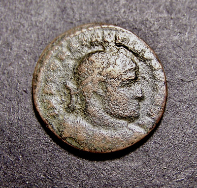CONSTANTINE I, Sun Worship, Winter Solstice in Old France, Imperial Roman Coin