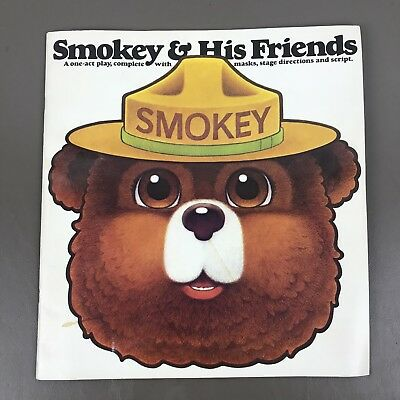 Smokey Bear Lot Play With Masks Stage Direction Script