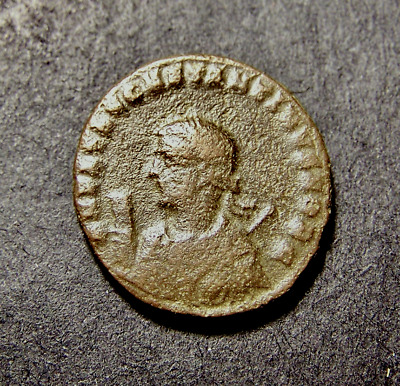 CONSTANTINE II, Jupiter, King of Gods, NIKE & Captive, Very RARE Roman Coin