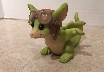 Pocket Dragon Figurine Zoom Zoom Real Musgrave 1992 Signed Retired No Box