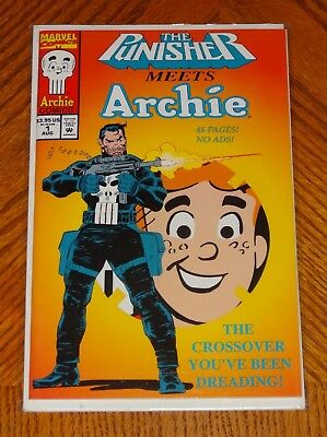 The Punisher Meets Archie #1 (Aug 1994, Marvel) NM Cool Story