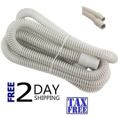 "10 Foot 120"" CPAP BIPAP FLEXIBLE AIR TUBING HOSE TUBE-10-Ft- New Quality Sealed"