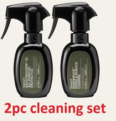 ac4591d4d4 Timberland Product Care 2 PCS Balm Proofer Protecter Renewbuck Cleaner Spray