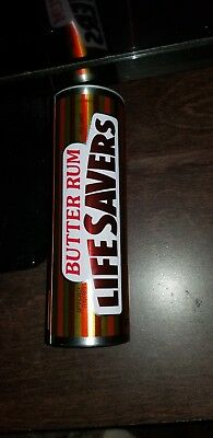 "Vintage Life Savers ""Butter Rum"" Collector Tin – EMPTY-G41"