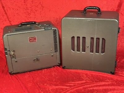 Bell & Howell 179 Model C 16mm Sound-on-Film Projector With Speaker