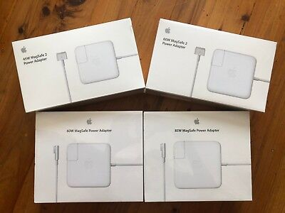 Genuine Apple Macbook Air/Pro MagSafe 1 2 45W 60W 85W USB-C AC Power Adapter