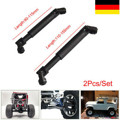 2Pcs 1:10 RC Axial Antriebswelle SCX10 D90 RC4WD Crawler Truck  Kardanwelle