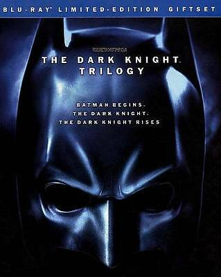 The Dark Knight Trilogy (Blu-ray Disc, 2012, 5-Disc Set, Limited Edition)